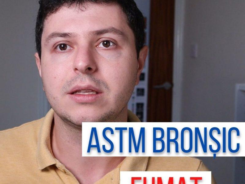 De ce fumatul este nociv în astmul bronșic?