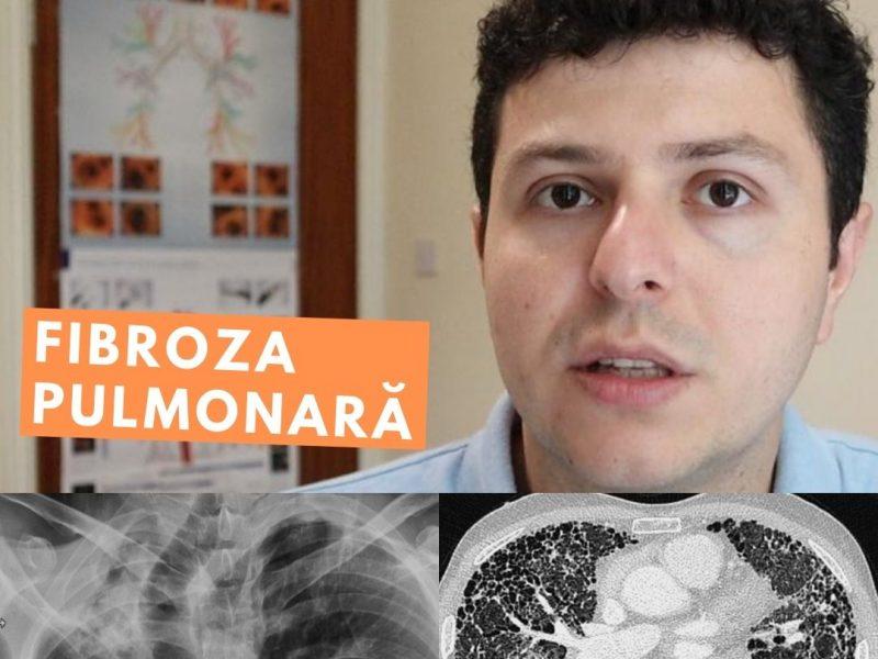 Simptome și evoluție în fibroza pulmonară