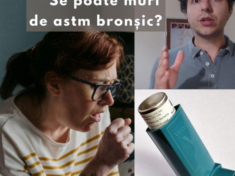 Se poate muri de astm bronșic?
