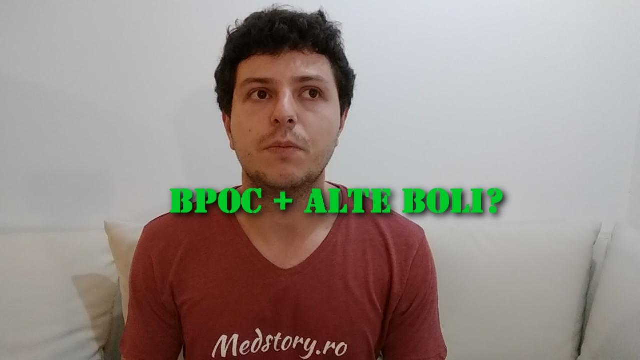 Diagnostic BPOC, exacerbări și boli asociate frecvent