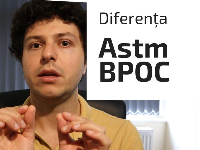 Care este diferența dintre astm bronșic și BPOC?