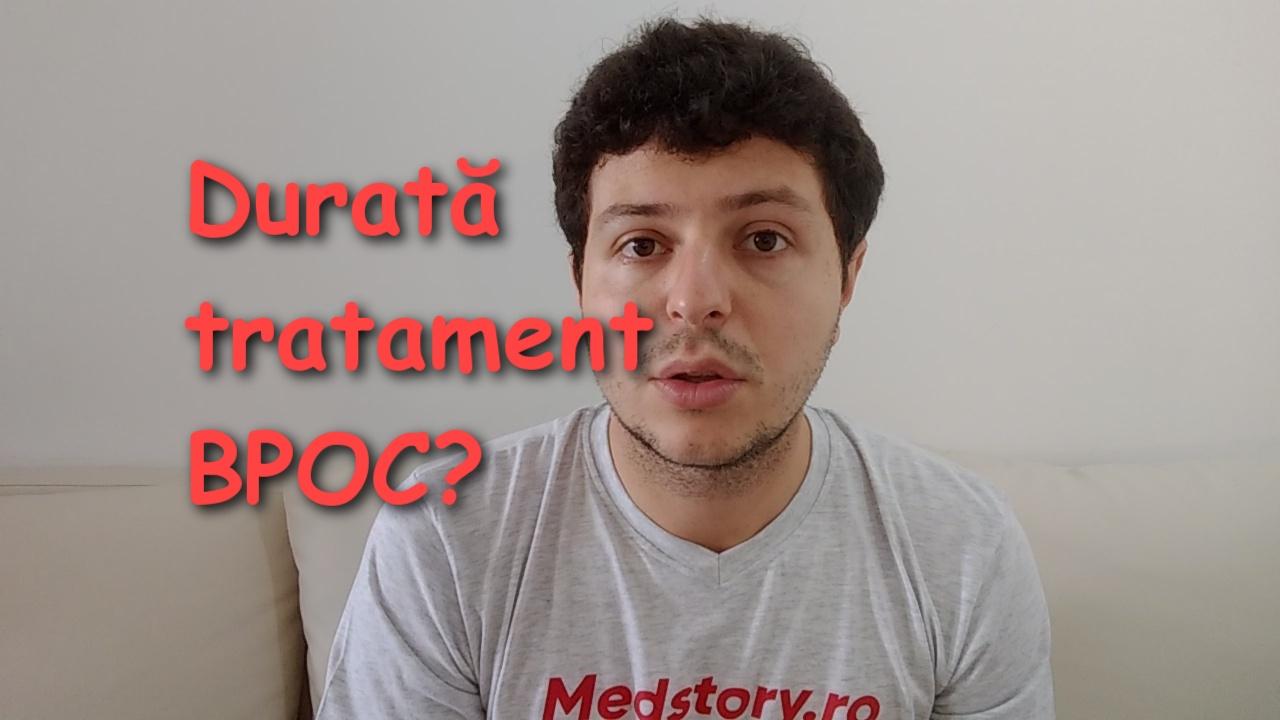 Cat durează tratamentul în BPOC?
