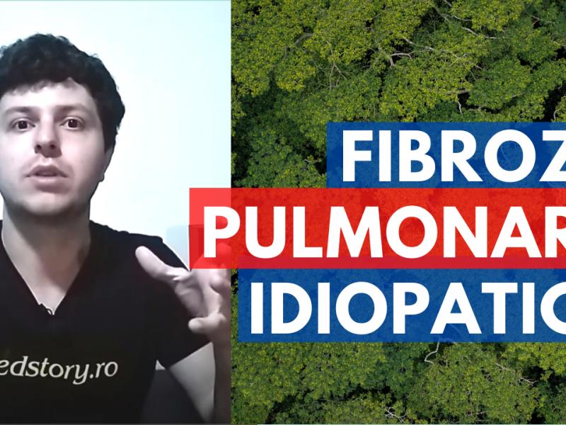 Cum se pune diagnosticul de fibroză pulmonară idiopatică?