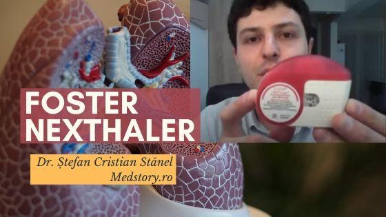 Cum se folosește Foster Nexthaler (dispozitiv inhalator)
