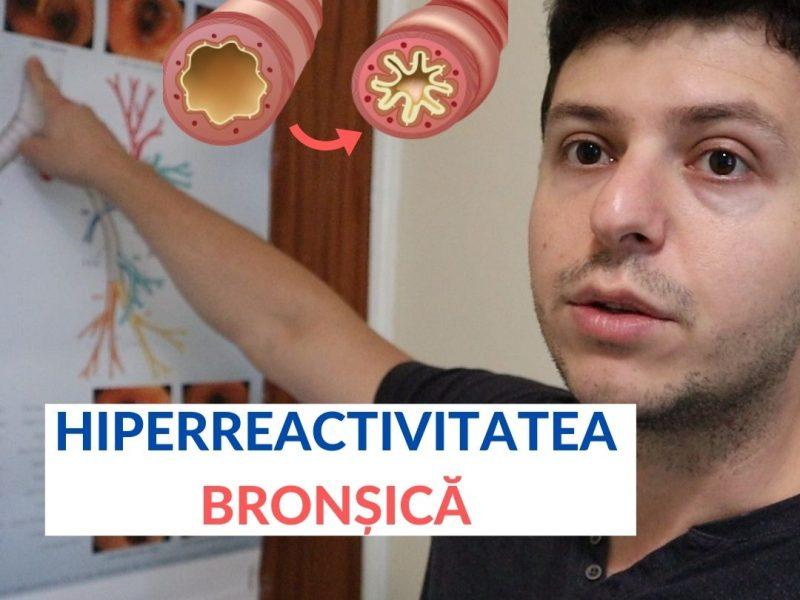 Ce este hiperreactivitatea bronșică?