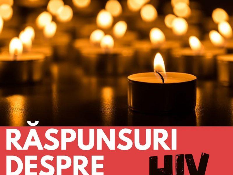 Răspunsuri despre HIV/SIDA
