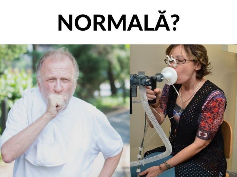 Spirometrie normală în astmul bronșic?